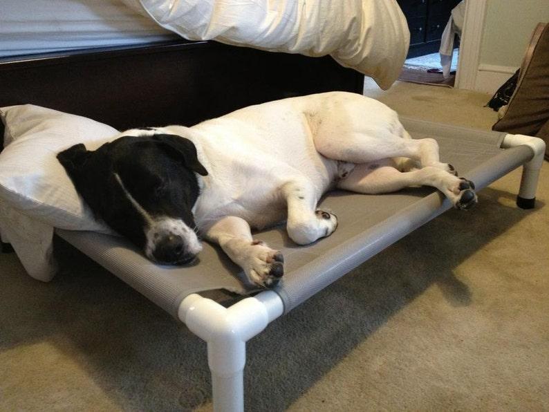 63e6bf00fad4 Orthopedic Dog Bed 28x40 Mesh Dog Bed 11 Mesh Colors Raised   Etsy