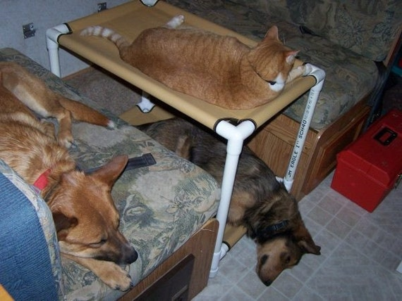 Cat Bunk Beds 22x30 Window Dogs Cots Cat Hammocks Cat Bed Etsy