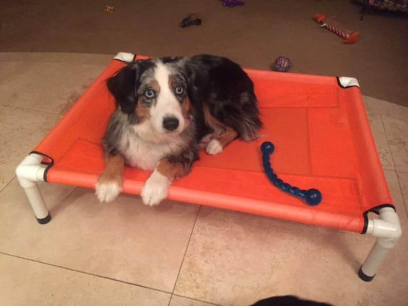 7b7d2095e178 Dog Bed Cat Bed Mesh PVC Pipe Dog Hammock Dog Bedding   Etsy