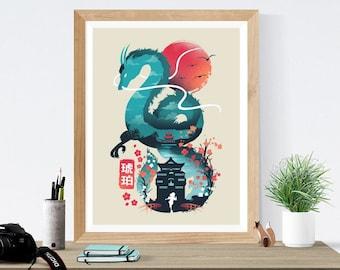 Spirited Away Print Etsy
