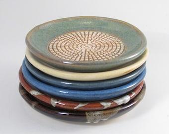 Ceramic Grater, Garlic Grater, Ginger Grater, Stoneware Grater, Garlic Dipping Dish, Stoneware Grating Dish,GR5,7