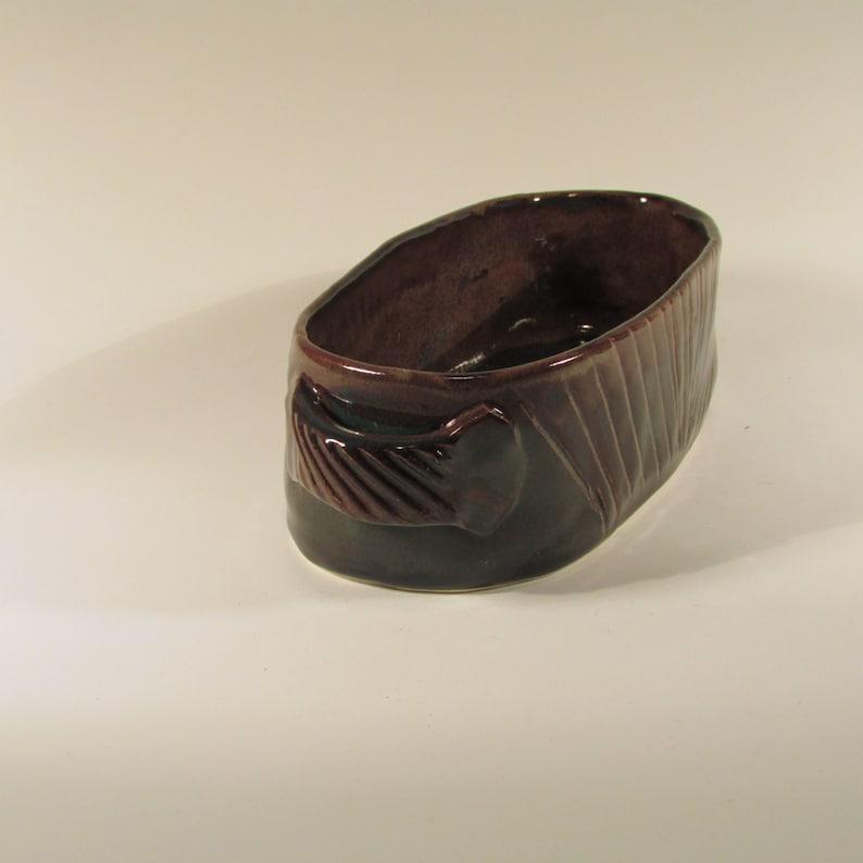 Ceramic serving Dish Small casserole dish Oval Casserole Dish Stoneware Baker Pottery casserole Oven baker - Baking Dish