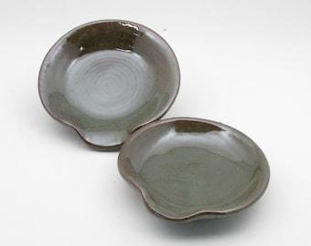 Ceramic Spoon Rest, Hand Crafted Spoon Rest, Ceramic Spoonrest, Stoneware Spoon rest, Pottery Spoon Rest, Kitchen spoon holder, SR5,SR6