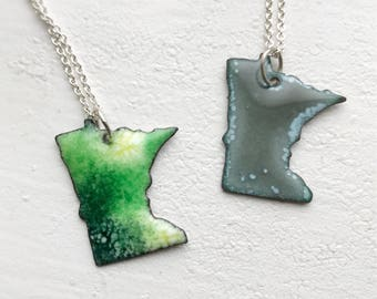 Minnesota Love necklace