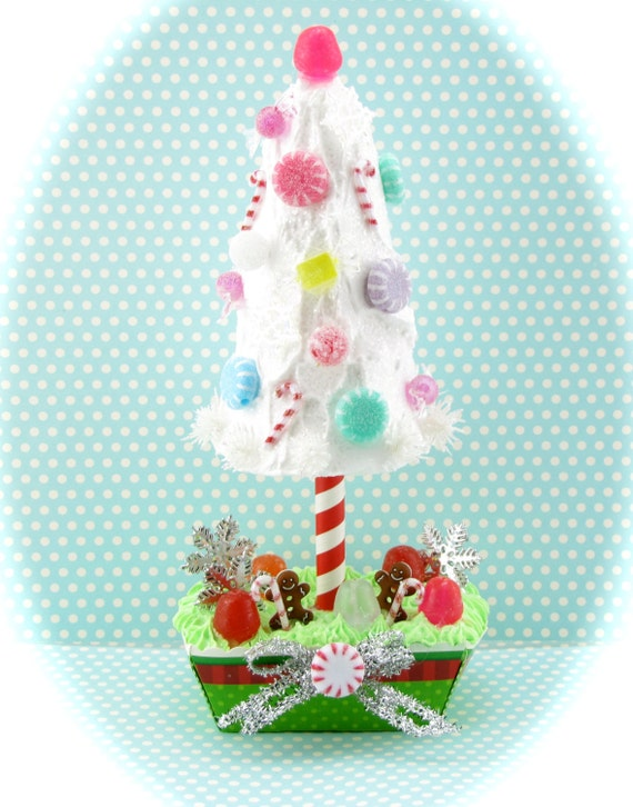 Blue Frosted Candy Snowflake with Sprinkles Christmas Tree Ornament R