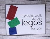 Walk on Legos for You Bla...