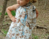 Custom Made Pillowcase Dress-0-8 years old-Annette Tatum Fabric-Tatum House