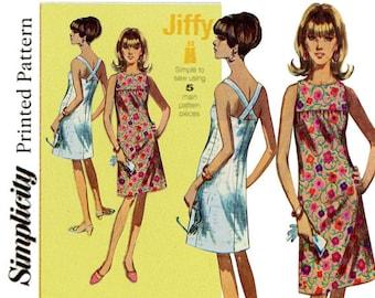 OOP Retro 1960s Summer Dress Pattern - Simplicity 1101 - Retro Dress Pattern - Easy Pattern - Sizes:  6 -8 -10 -12 -14 or 14 -16 -18 -20 -22