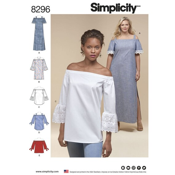 Simplicity 8296 Sewing Pattern Misses or Women\'s Boho | Etsy