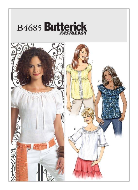 Misses Boho Gathered Raglan Sleeve Tops Sizes: 8 14 | Etsy
