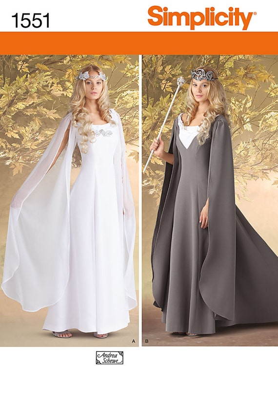 SIMPLICITY PATTERN RENAISSANCE MEDIEVAL COSTUME SIZE 10-18 or 20-26 # 4940