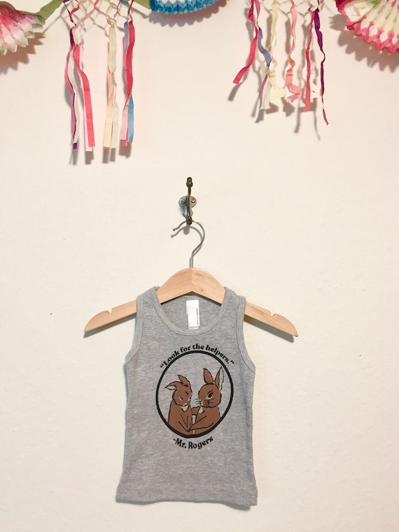 Look For The Helpers Baby Tank 6 To 12 Month Unisex Fred Etsy