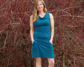 Hemp LupineAll-in-OneDress - Women's Organic Clothing - Eco-Friendly Summer Dress