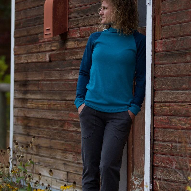 eco-friendly leggings Hemp Inspire Pocket Yoga Pants Women/'s organic yoga clothing
