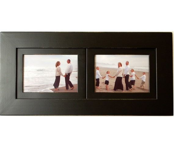 2 Opening Collage Picture Frame With Two Landscape Picture Etsy