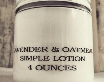 Intro Price! Colloidal Oatmeal Simple Moisturizing Lotion. Paraben Free, SLS Free, Fragrance Free & Preservative Free!
