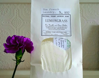 FREE SHIP in U.S.   Concentrated Formula. Vegan Laundry Soap.  1 lb. Plant Based.  Sustainable Cleaning. Vegan Product for Home and Living.