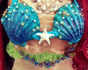 Sea Shell Mermaid Top