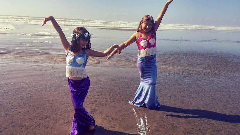 Kids Mermaid Costume swimmable and walkable