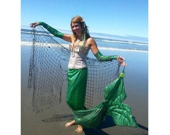 Adult snake skin mermaid costume
