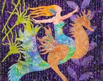 Sea Fairy PDF quilt pattern