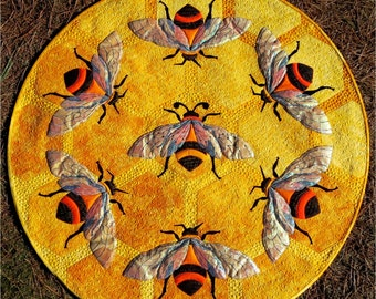 The Quilting Bee PDF applique quilt pattern