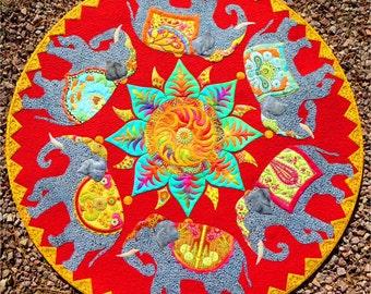 The Last Marigold PDF quilt pattern