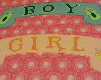 Boy or Girl Banner 1 to a set