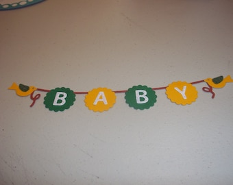 Baby Banner - 1 to a set