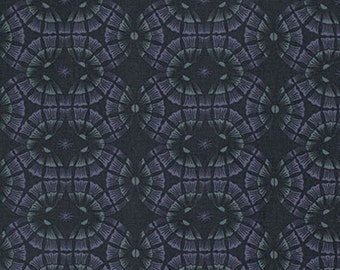 """PWPG035 Parson Gray Empire Palace Royal Dark Geometric Quilting 18"""" BTHY Westminster Half Yard 18"""" Quilt Fabric HY Masculine Modern"""