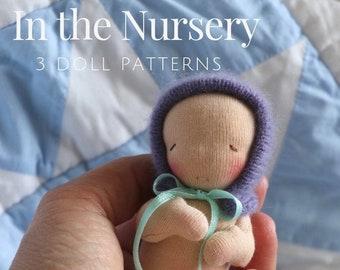 In The Nursery Dollmaking Pattern | DIY Doll making| Waldorf Doll | toymaking | Baby doll | Cloth doll pattern