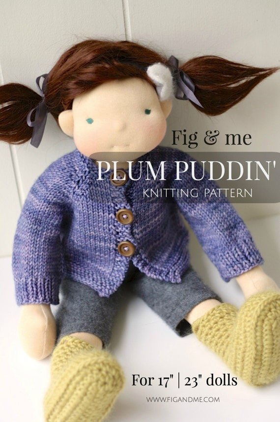 PDF knitting pattern Doll Clothing Patterns DIY Waldorf | Etsy