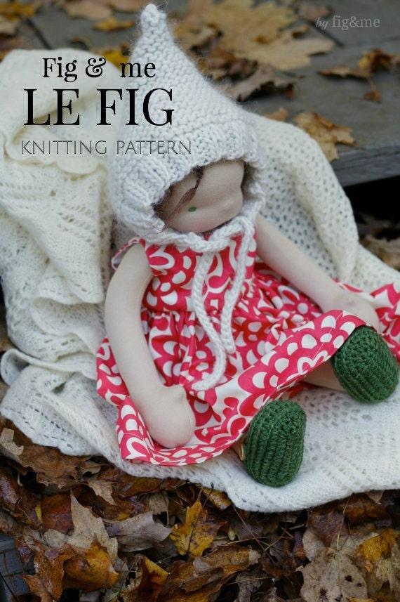 Knitting Pattern Doll Hat Waldorf Inspired Doll Clothing Etsy