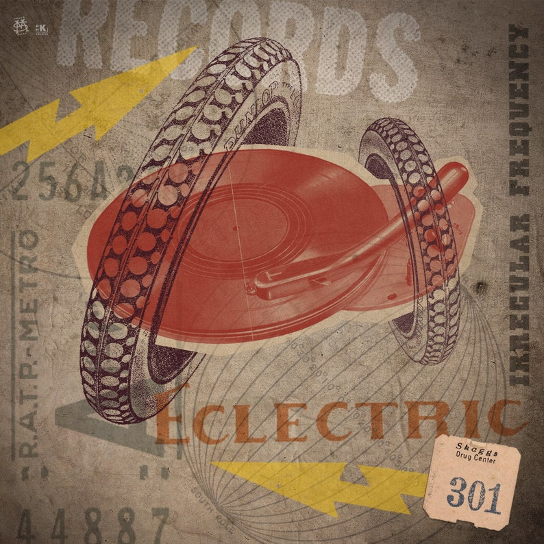 Episode 301 Eclectric Vibe Irregular Frequency
