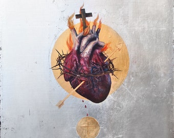 The Sacred Heart of Jesus fine art print (large format)