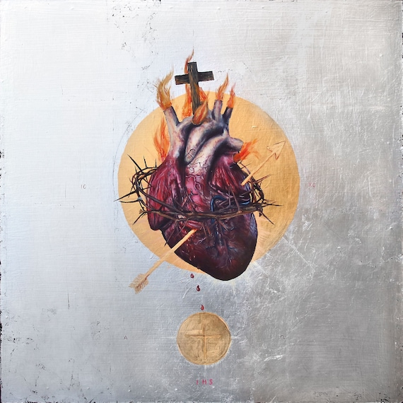 The Sacred Heart of Jesus fine art print