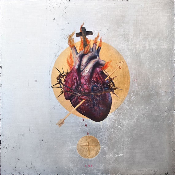 The Sacred Heart of Jesus fine art print (large format)