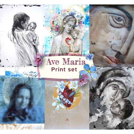 Ave Maria, Note Card set