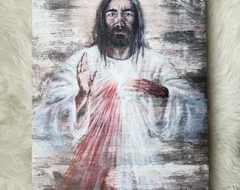 Divine Mercy, canvas gallery wrap