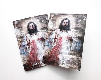Divine Mercy, 5 note card set