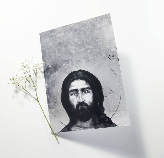Christ Pantocrator - note card