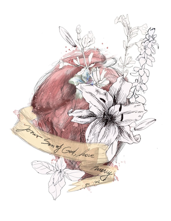 The Prayer of the Heart - fine art print