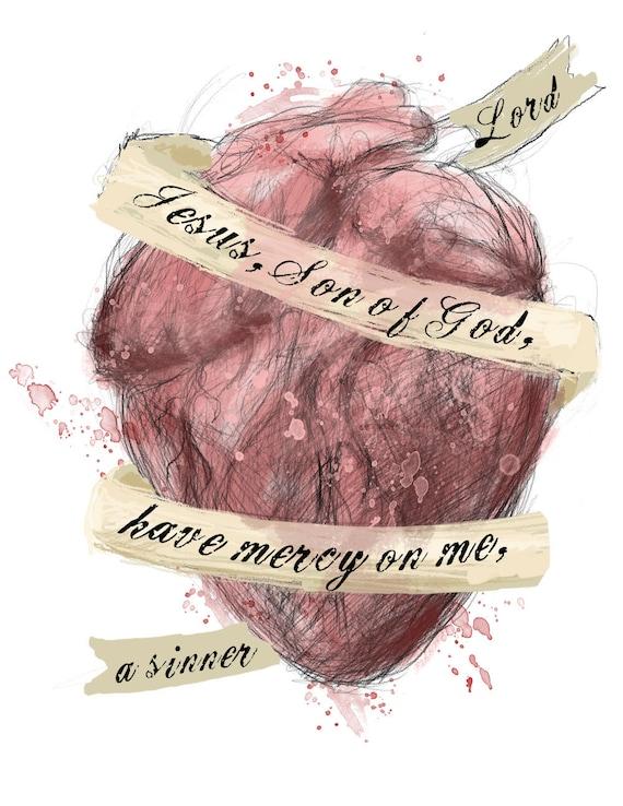 The Prayer of the Heart II - fine art print