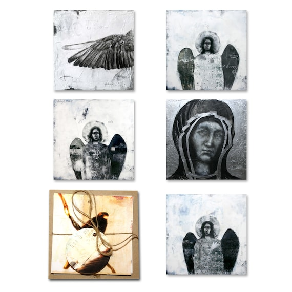 Art Note Cards - set of 5