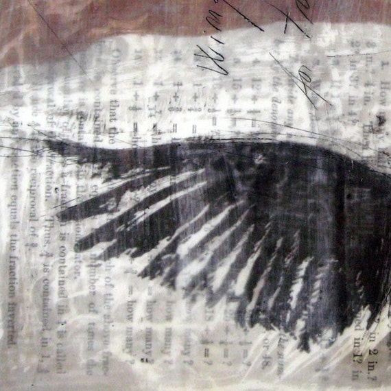 Wing - mini print/ note card