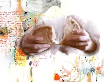 Breaking the Bread II - fine art print