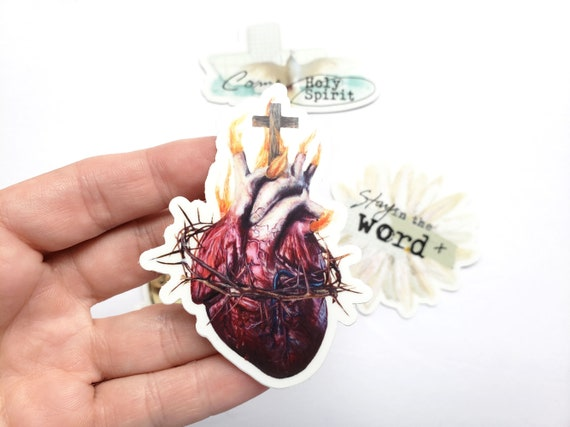 The Sacred Heart - sticker