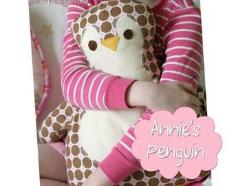 Penguin Pillow Sewing Pattern Annie's Penguin