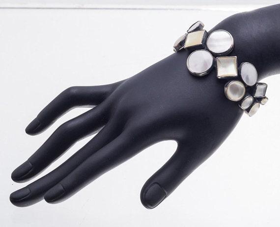 Rocki Gorman Bracelet - Golden Lip & Pearl - Sterl