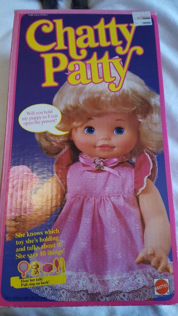 234010fdc35 1983 Chatty Patty Doll in Original Box